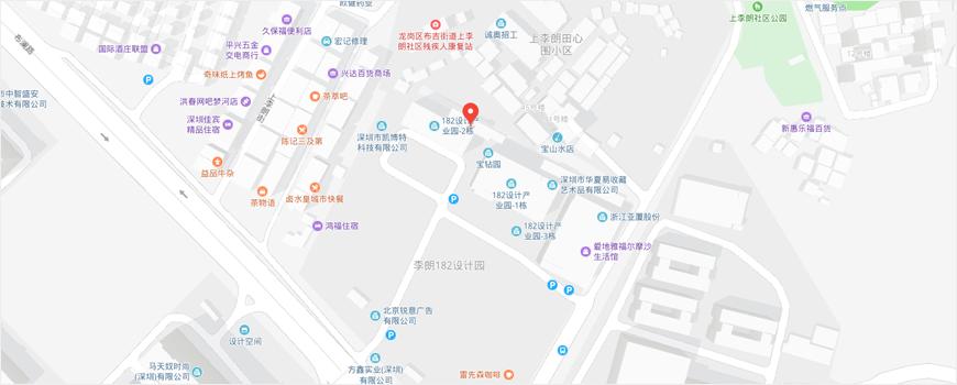 深圳市龙岗区布澜路182号182设计园1号楼202